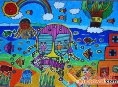 关于海底世界的儿童画大全82.jpg