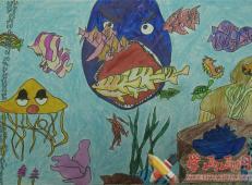关于海底世界的儿童画大全28.jpg