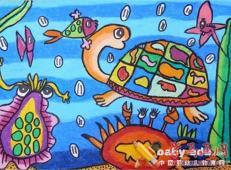 关于海底世界的儿童画大全47.jpg