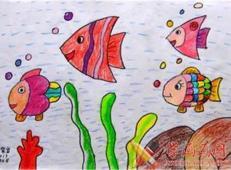 关于海底世界的儿童画大全1.jpg