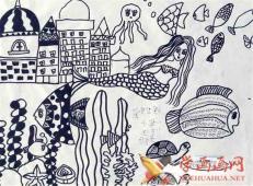 关于海底世界的儿童画大全55.jpg
