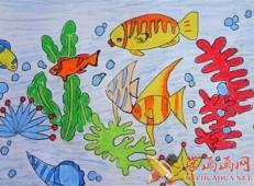 关于海底世界的儿童画大全49.jpg