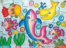 关于海底世界的儿童画大全34.jpg