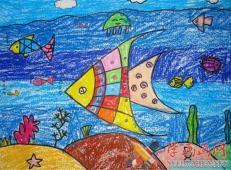 关于海底世界的儿童画大全37.jpg