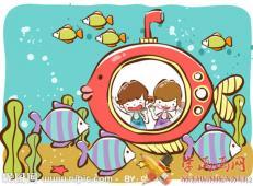 关于海底世界的儿童画大全61.jpg