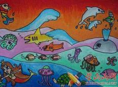关于海底世界的儿童画大全20_副本.jpg