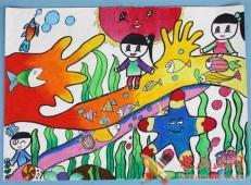 关于海底世界的儿童画大全41.jpg