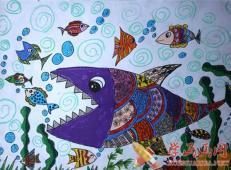 关于海底世界的儿童画大全42.jpg