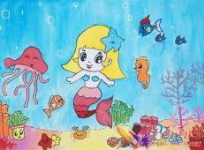 关于海底世界的儿童画大全2.jpg