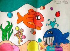 关于海底世界的儿童画大全15.jpg