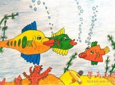关于海底世界的儿童画大全70_副本.jpg