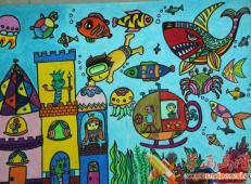 关于海底世界的儿童画大全60.jpg