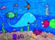 关于海底世界的儿童画大全23.jpg