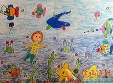 关于海底世界的儿童画大全53.jpg