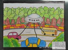 关于未来科技的儿童画画图片大全 (6).jpg