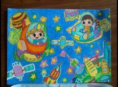 关于未来科技的儿童画画图片大全 (39).jpg