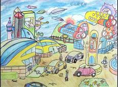 关于未来科技的儿童画画图片大全 (20).jpg