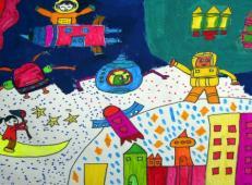 关于未来科技的儿童画画图片大全 (57).jpg