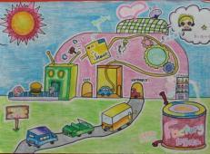 关于未来科技的儿童画画图片大全 (22).jpg