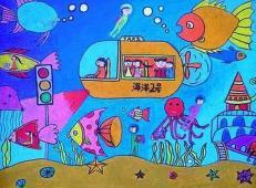 关于未来科技的儿童画画图片大全 (34).jpg