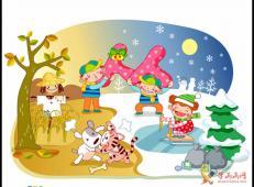 关于冬天和雪人的儿童画图片大全 (1).jpg