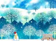 关于冬天和雪人的儿童画图片大全 (60).jpg