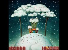 关于冬天和雪人的儿童画图片大全 (58).jpg