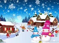 关于冬天和雪人的儿童画图片大全 (65).jpg