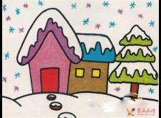关于冬天和雪人的儿童画图片大全 (8).jpg