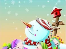 关于冬天和雪人的儿童画图片大全 (66).jpg