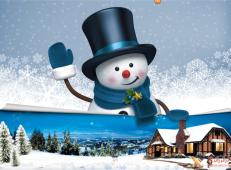 关于冬天和雪人的儿童画图片大全 (1).png