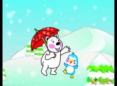 关于冬天和雪人的儿童画图片大全 (64).jpg