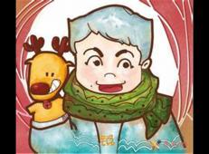关于冬天和雪人的儿童画图片大全 (4).jpg