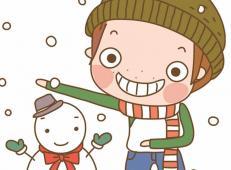 关于冬天和雪人的儿童画图片大全 (68).jpg