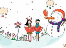 关于冬天和雪人的儿童画图片大全 (70).jpg