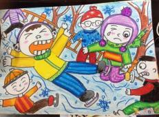 关于冬天和雪人的儿童画图片大全 (31).jpg