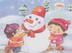 关于冬天和雪人的儿童画图片大全 (47).jpg