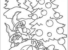 关于圣诞节和圣诞老人的儿童画画图片大全 (48).jpg