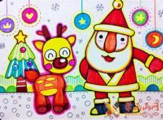 关于圣诞节和圣诞老人的儿童画画图片大全 (56).jpg