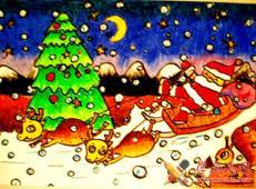 关于圣诞节和圣诞老人的儿童画画图片大全 (31).jpg