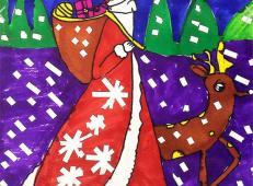 关于圣诞节和圣诞老人的儿童画画图片大全 (45).jpg