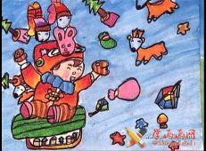 关于圣诞节和圣诞老人的儿童画画图片大全 (54).jpg