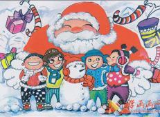 关于圣诞节和圣诞老人的儿童画画图片大全 (28).jpg