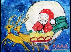 关于圣诞节和圣诞老人的儿童画画图片大全 (39).jpg