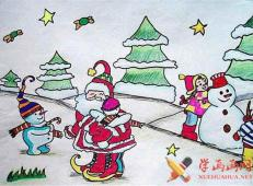 关于圣诞节和圣诞老人的儿童画画图片大全 (16).jpg