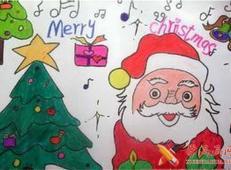 关于圣诞节和圣诞老人的儿童画画图片大全 (50).jpg