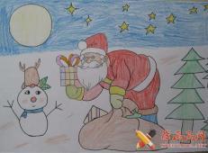 关于圣诞节和圣诞老人的儿童画画图片大全 (6).jpg