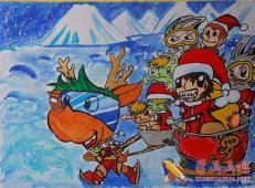 关于圣诞节和圣诞老人的儿童画画图片大全 (14).jpg