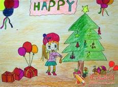 关于圣诞节和圣诞老人的儿童画画图片大全 (5).jpg