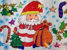 关于圣诞节和圣诞老人的儿童画画图片大全 (4).jpg
